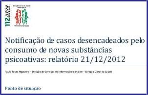 Relatório - Notificação de casos - 21/12/2012