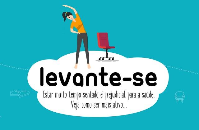 Cartazes campanha LEVANTE-SE