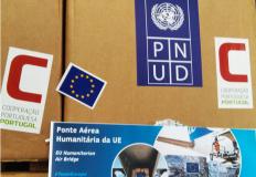 Ponte Área Humanitária da União Europeia com destino à Guiné-Bissau