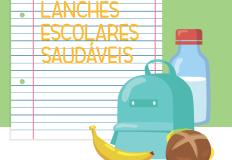 Guia Prático ajuda na preparação de lanches escolares saudáveis