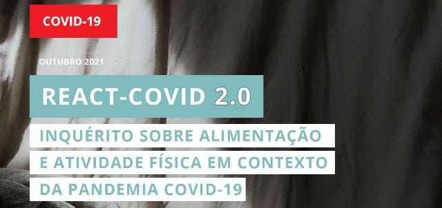 Relatório infográfico REACT-COVID 2.0
