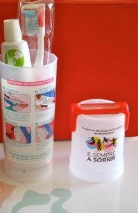 Kit de saúde oral