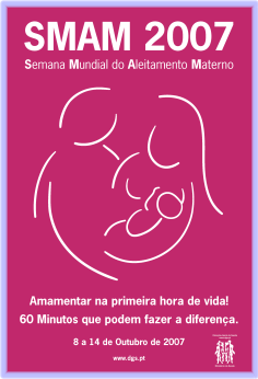 Semana Mundial do Aleitamento Materno 2007 (SMAM2007)