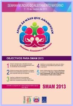 Semana Mundial do Aleitamento Materno 2013 (SMAM2013)