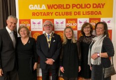 DGS participou na III Gala World Polio Day