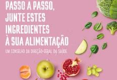Campanha da DGS propõe maior consumo de fruta, água, leguminosas e hortícolas