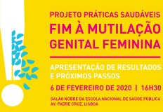 Dia 6 de fevereiro de 2020 – Dia da Tolerância Zero à mutilação Genital Feminina (MGF)