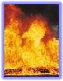 Riscos resultantes de incêndios
