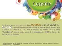 Dia Mundial da Prevenção do Suicídio - 7 de setembro