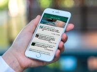 SNS em nova aplicação móvel