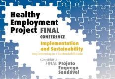 Conferência final do Projeto Emprego Saudável
