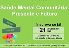 """Encontro sobre """"Saúde Mental Comunitária: Presente e Futuro"""""""