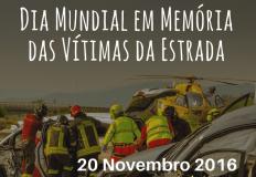 Dia Mundial em Memória das Vítimas da Estrada - 20 de novembro