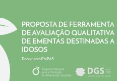 Ferramenta de avaliação qualitativa de ementas destinadas a idosos