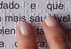 Dieta Mediterrânica em Braille