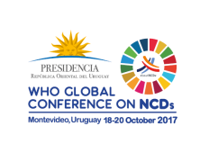 Organização Mundial de Saúde - Conferência Global de Doenças não Transmissíveis