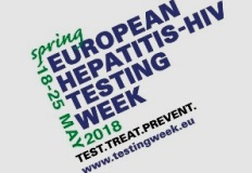Semana Europeia do Teste Hepatites-VIH, Primavera 2018