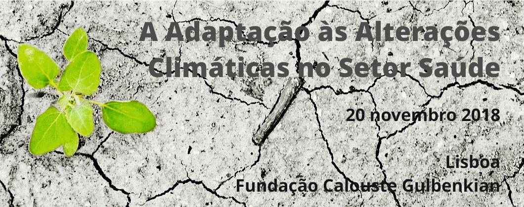 Seminário «A Adaptação às Alterações Climáticas no Setor Saúde»