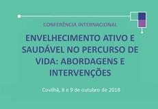 Prazo para a submissão de posters para Conferência Internacional
