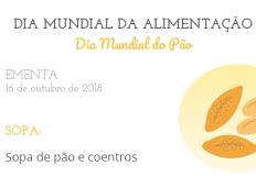 DGS comemora Dia Mundial da Alimentação