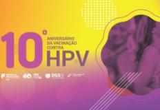Evento comemorativo do 10º Aniversário da Vacinação contra o HPV