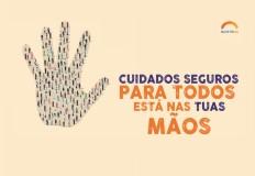 Comemoração do Dia Mundial de Higiene das Mãos | 3 de maio de 2019