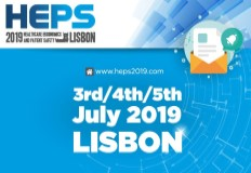 Conferência Internacional Healthcare Ergonomics and Patient Safety - HEPS 2019